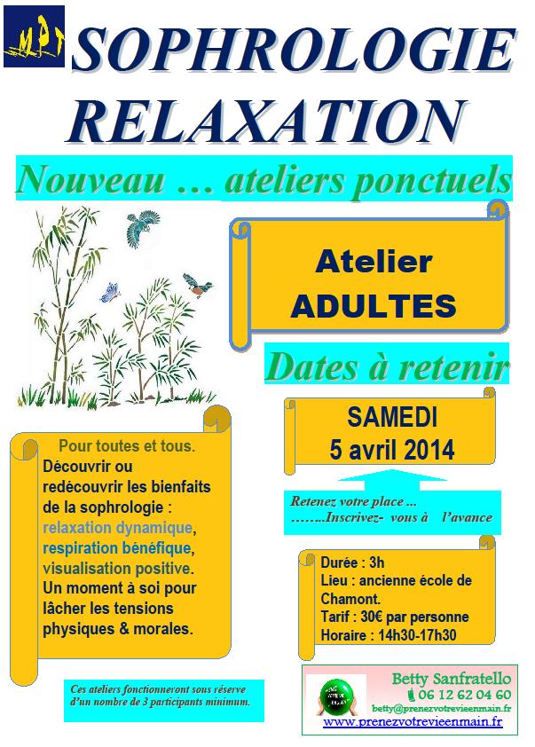 AtelierAdultes 5 Avril