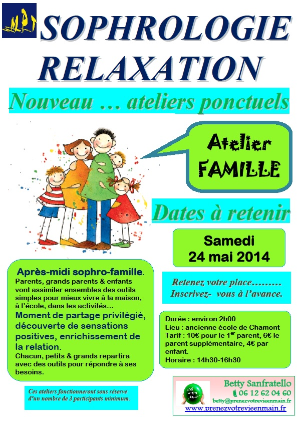 Ateliers MPT Famille 24 mai 2014