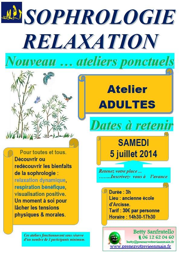 Ateliers MPT Adultes 5 juillet 2014