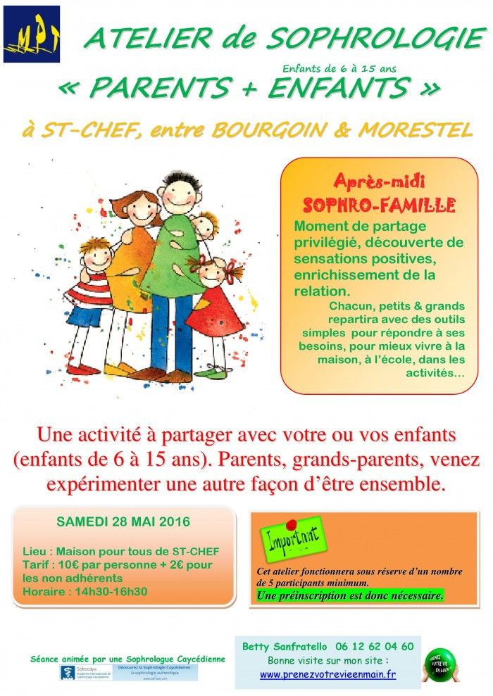 Atelier Famille 28 05 2016