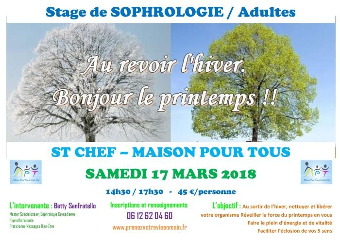 Atelier Adultes 17 mars 2018